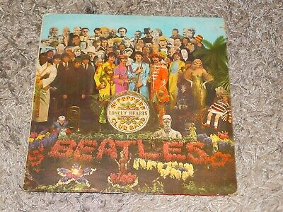 1St Pressing The Beatles - Sgt. Peppers Lonely Hearts Club Band -Vinyl Lp Record