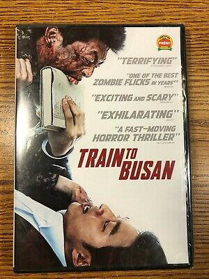 Train To Busan Dvd Brand New Sealed Horror Zombie Movie 2016 Film Gong Yoo