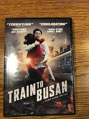 TRAIN TO BUSAN DVD BRAND NEW FACTORY SEALED ZOMBIE HORROR MOVIE FILM Gong Yoo