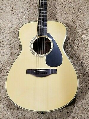 Yamaha LS16 Concert Acoustic Guitar Natural with Case (Brand New Unplayed)