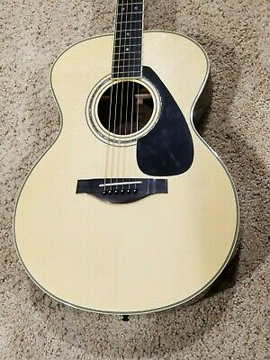Yamaha LJ16 Jumbo Acoustic Guitar Natural with Case (Brand New Unplayed)