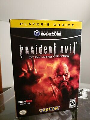 Resident Evil 10th Anniversary Collection Nintendo Gamecube Gamestop Exclusive