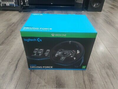 Logitech G920 Driving Force Racing Wheel - Black (941-000121)