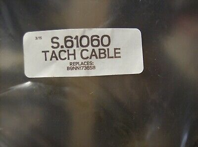 B9Nn17365B Ford New Holland Tach Cable 600 800 Jubilee 601 801 2000 4000