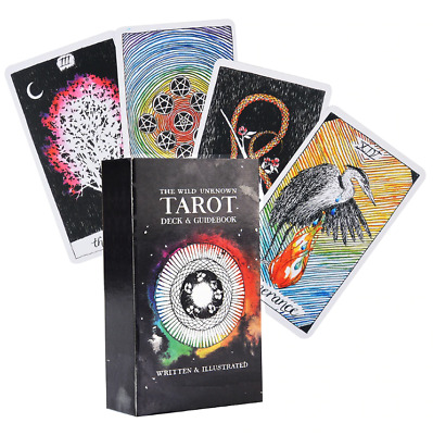 The Wild Unknown Tarot Deck Set 78 PCS