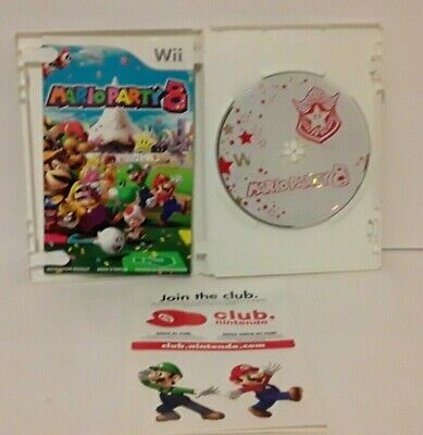 Mario Party 8 Game Complete Nintendo Wii 2007 Tested Working Manual Included