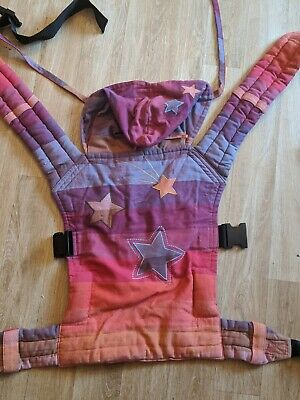Pouchlings Wrap Conversion. Sling. Buckles. Baby Carrier. Rainbow