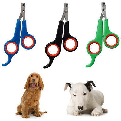 Pet Nail Clippers Dog Cat Rabbit Bird Guinea Pig Use Claw Trimmers Scissors NL