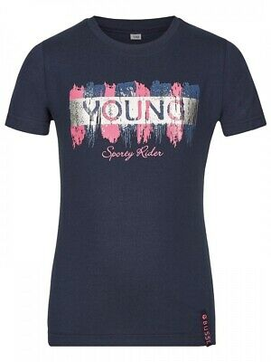 Kinder T-Shirt YOUNG STAR Busse navy 134/140