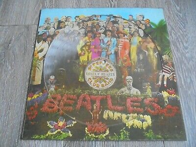 The Beatles - Sgt. Pepper's..1979 UK PICTURE DISC LP PARLOPHONE PHO 7027 EX+