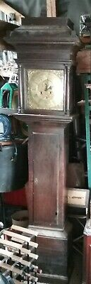 Brass Faced Longcase Grandfather Ratcliffe Of Welshpool