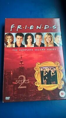 Friends The Complete Second Series Dvd Boxset
