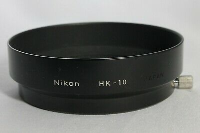 Excellent Nikon Metal Lens Hood HK-10 for Ai-S Zoom Nikkor 50-135mm f3.5 Japan