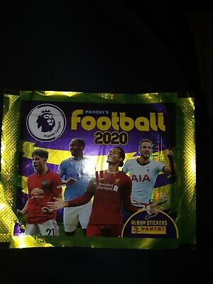 30 packets PANINI PREMIER LEAGUE FOOTBALL 2020 STICKERS 30 PACKS