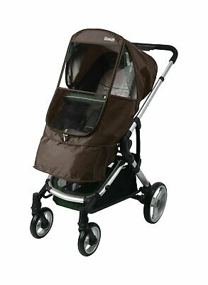 Manito Elegance Beta Stroller Weather Shield/Rain Cover - Chocolate
