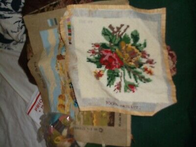 Needle Point To Be Completed