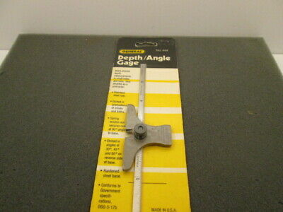 General Tools 444 Depth//Angle Gage