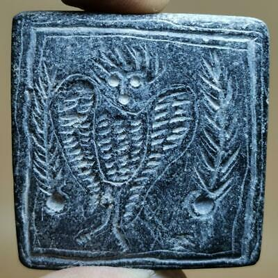 Roman Ancient Eagle Wild Rare Bird Seal intaglio stone Stamp     # 141