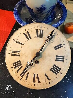 Antique French Clock Dial With Working Movement
