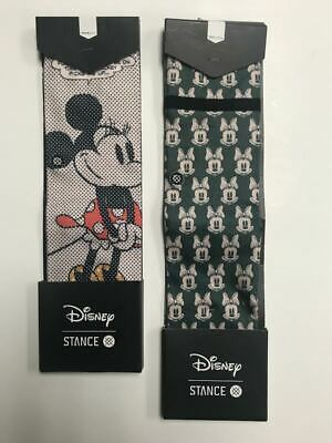 Stance Socks - YOUTH GIRLS SOCK BUNDLE - Minnie Mouse - Youth L & Youth M - New