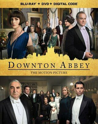 Downtown Abbey 2019(Blu-Ray+Dvd+Digital)W/Slipcover New Free Shipping