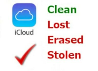 ICloud Clean Or Lost Mode Check (iPhone/ IPad / IPod / Iwatch) - IMEI or S/N