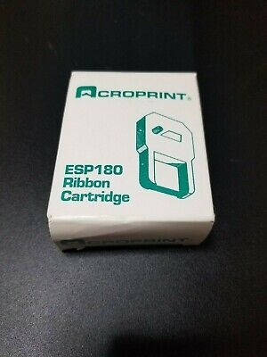Acroprint 125QR4 Time Clock Ribbon 200106002 MADE IN USA AND FREE SHIPPING
