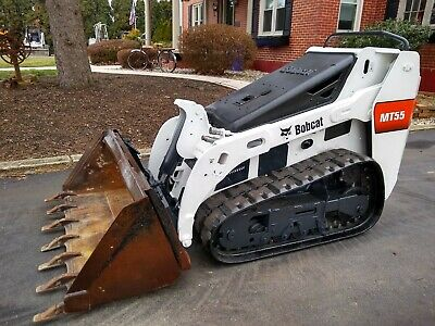 Bobcat MT55 Track Skid Steer Loader Kubota Diesel 25HP JUST SERVICED 1760Hrs