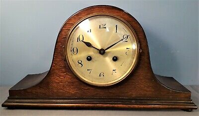 Vintage Haller A.G. Striking Mantel Clock, made in Germany