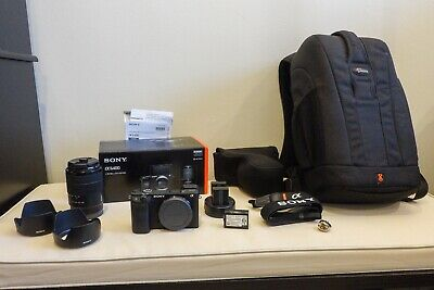 Sony Alpha a6400 Mirrorless Camera w E 18-135mm f/3.5-5.6 OSS Lens - Barely Used