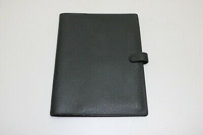 Louis Vuitton: Taiga Cover Bloc - A4 Agenda Planner - Black