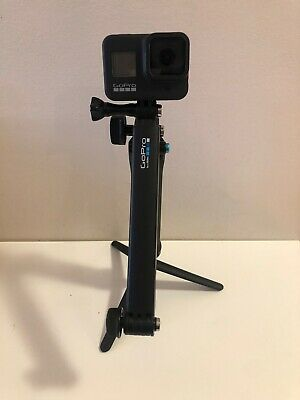 GoPro HERO8 Black Action Camera with case and extras