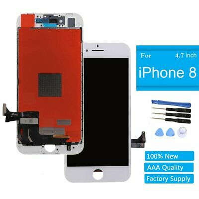 "For Apple iPhone 8 4.7"" Screen Glass Replacement Touch LCD Digitizer White"