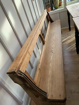 Solid pine bench/church pew