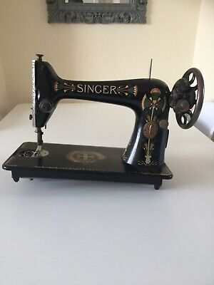 Antique SINGER Sewing Machine For Spares.