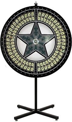 "60"" Money Wheel with Green Star and Vinyl Laydown"