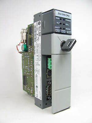Allen Bradley, SLC 500, 5/04 CPU, 1747-L541, SER B, FRN 9, Good Shape