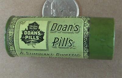 Vintage Doan's Pills Tin Foster Milburn Co Buffalo New York