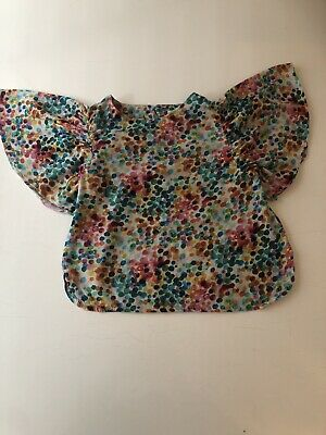 Girls Next Spot Muti Colour Blouse With Bell Sleeves Age 3-4