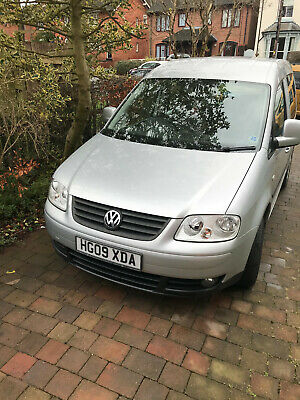 VW Caddy wheelchair accessible WAV low mileage