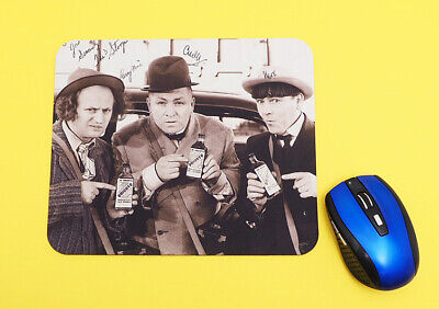 The Three Stooges Mouse Pad  .  Computer Mouse Pad Home Office Decor Mousepad
