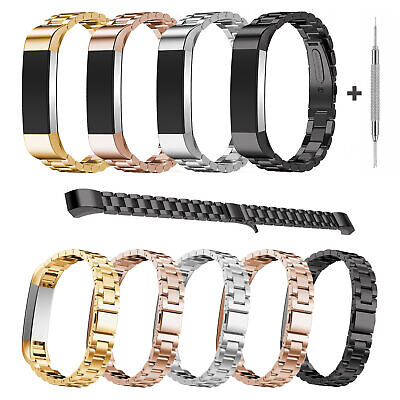 Stainless Steel Wrist Band Loop Strap Bracelet for Fitbit Alta / Alta HR Watch