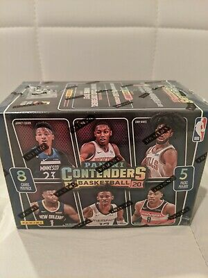 19-20 Panini Contenders NBA Basketball Cards Blaster Box Factory Sealed ZION??