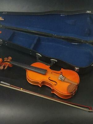 Vintage Stentor Violin Student 1 With Bow and Case
