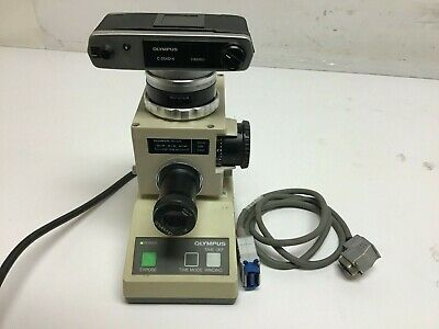 Olympus PM-10AK Microscope Photomicrographic System with C-35AD-4 Camera