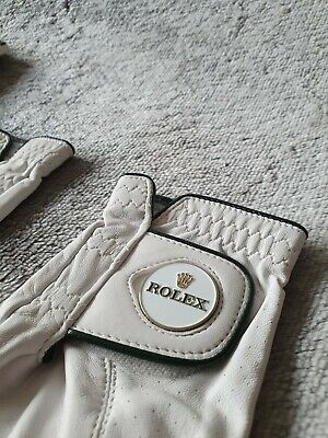 Rolex Golf Gloves VIP Gift - AAA Cabretta Leather - Size L - Left and Right