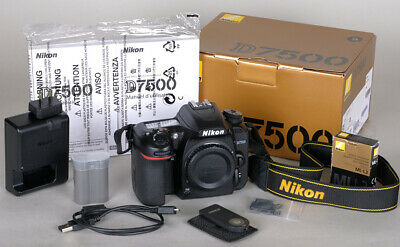 Nikon Canada D7500 DX Digital SLR 20.9MP Body Only 9772 Actuations