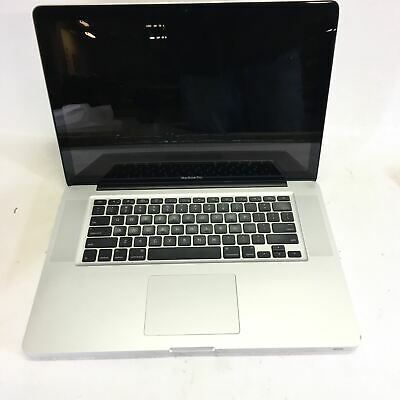 "Apple MacBook Pro A1286 15"" Core I5-520M @ 2.4 GHz 4GB Ram 250GB HDD No OS"