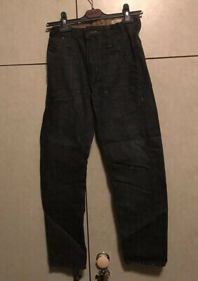 H&M Boys Blue Jeans Age 11-12 years Elasticated Adjustable Waist Excellent Cond.