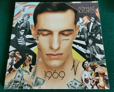 Achille Lauro 1969 VINILE LP AUTOGRAFATO RARO SOLD OUT Coez